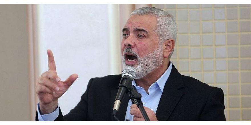 İsmail Haniye Hamas'ın siyasi büro başkanı oldu