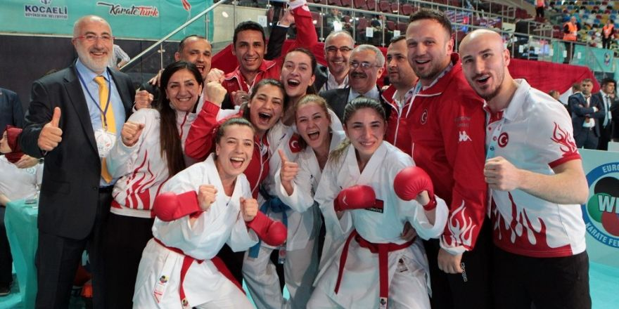Milli karatecilerden 12 Avrupa derecesi