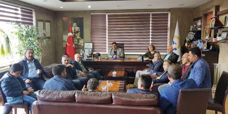 Tatvan'da 'İnşaat Fuarı ve Ponza Perlit Çalıştayı' toplantısı