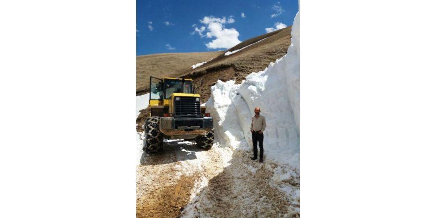 Mayıs ayında karla mücadele çalışmaları