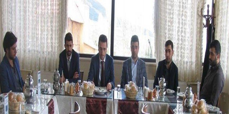 EGP'nin yeni yönetiminden basına tanışma kahvaltısı