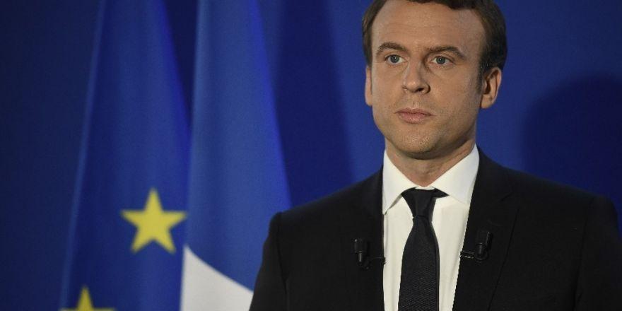 """Macron: """"Daha iyi bir gelecek inşa etmek istiyorum"""""""
