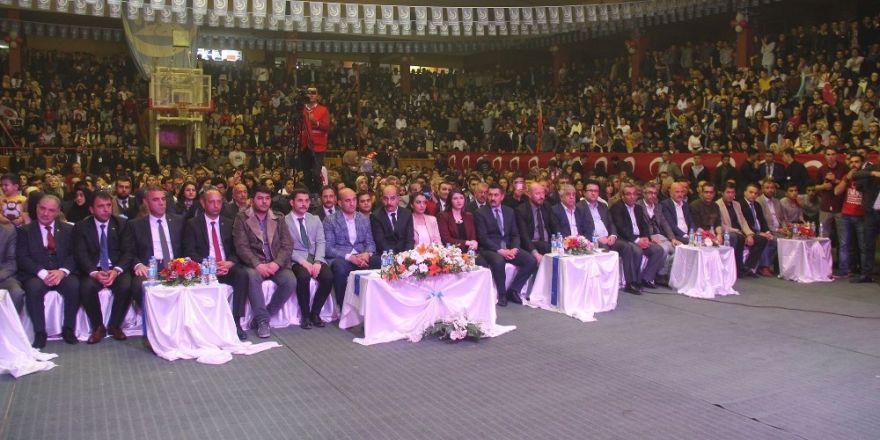 Sivas'ta Türk'ün Turan Gecesi düzenlendi