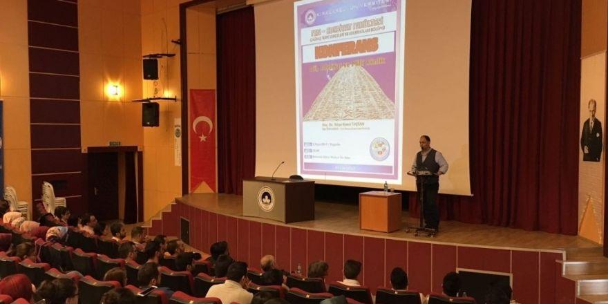 """Dil, Edebiyat ve Milli Kimlik"""" konferansı"""