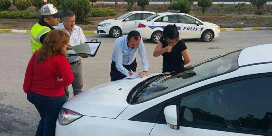 Adana'da kaçak tur denetimi