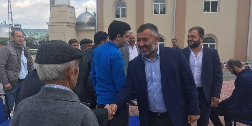 AK Parti heyeti 19 köyde Hıdrellez etkinliklerine katıldı