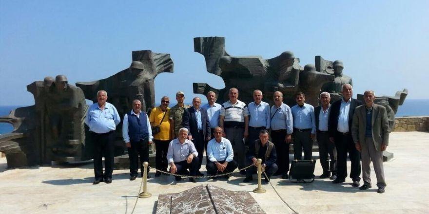 Tatvanlı gazilerden Kıbrıs'a anlamlı ziyaret
