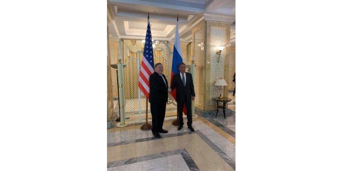 Lavrov - Pompeo görüşmesi başladı