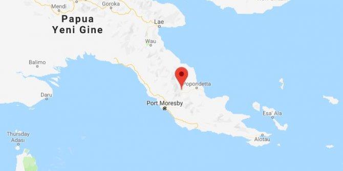 Papua Yeni Gine'de 7.4 büyüklüğünde deprem