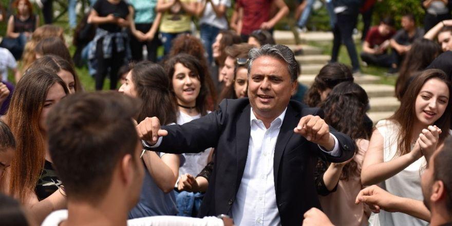 Başkan Uysal, MURGEM öğrencileri ile buluştu