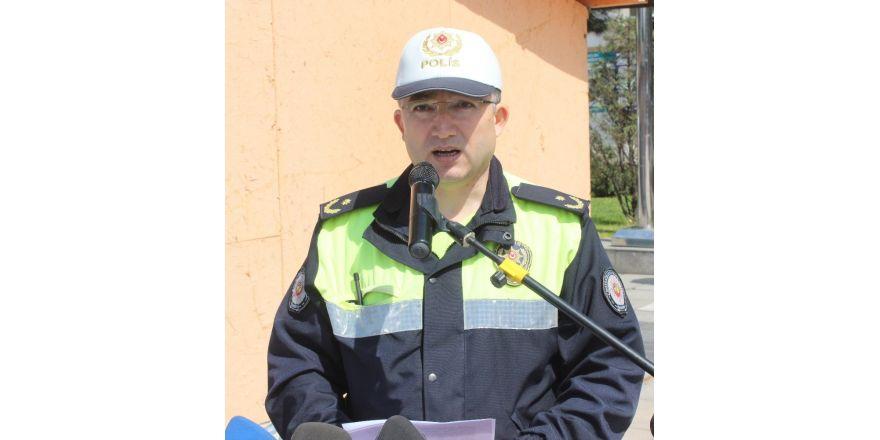 """Trafik Müdürü İsmail Caran; """"Hedef ölümlü kazaları azaltmak"""""""