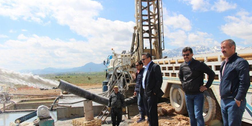 Seydişehir'de jeo termal kuyu çalışmalarında sona gelindi