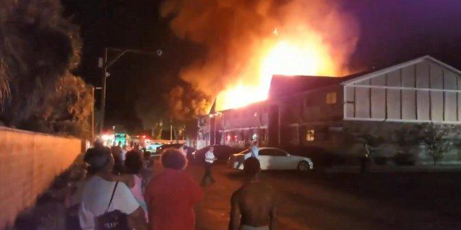 Çocuklarını yangından kurtarmak için eve girdi... Hiçbiri çıkamadı...