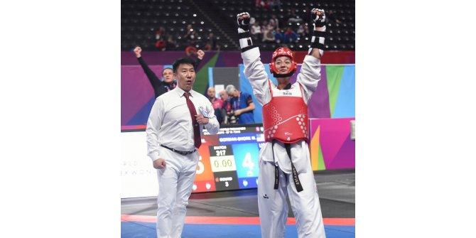 Dünya Taekwondo Şampiyonası'nda Nafia Kuş, bronz madalya kazandı