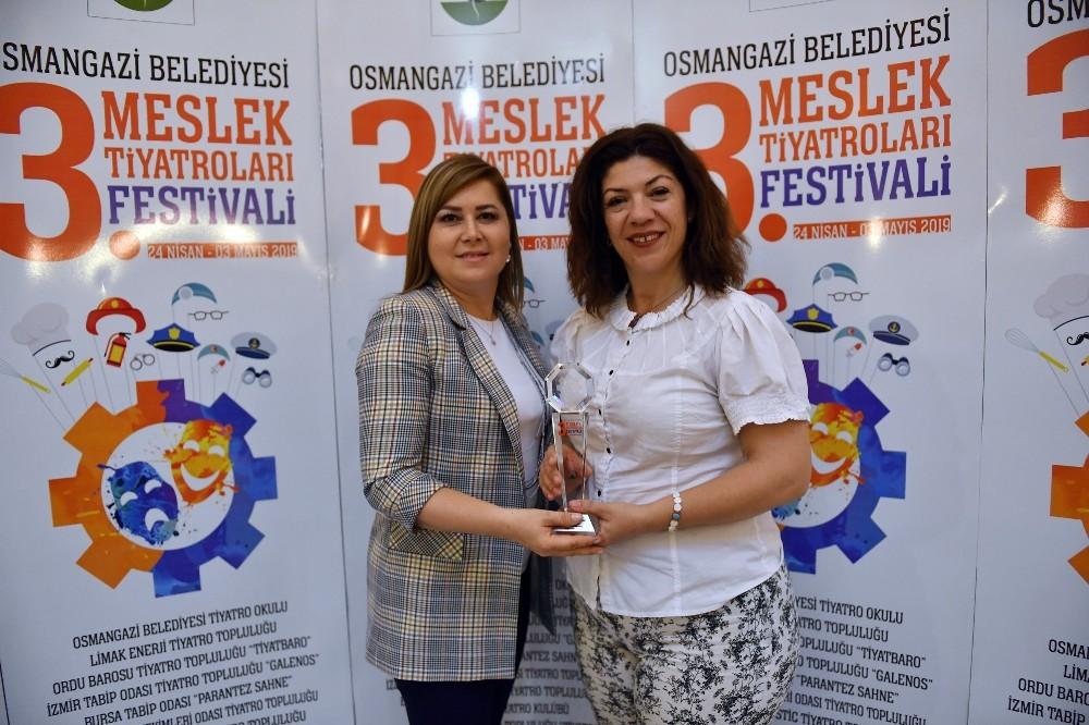 3'üncüsü düzenlenen Meslek Tiyatroları Festival Ödüller Sahiplerini Buldu