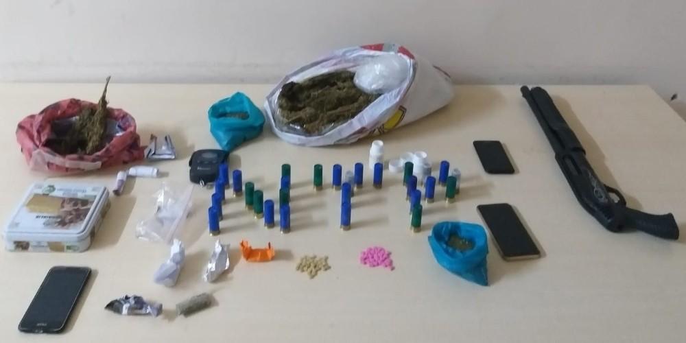 Gaziantep Emniyet Müdürlüğü ekiplerinden Uyuşturucu tacirlerine operasyon: 7 gözaltı
