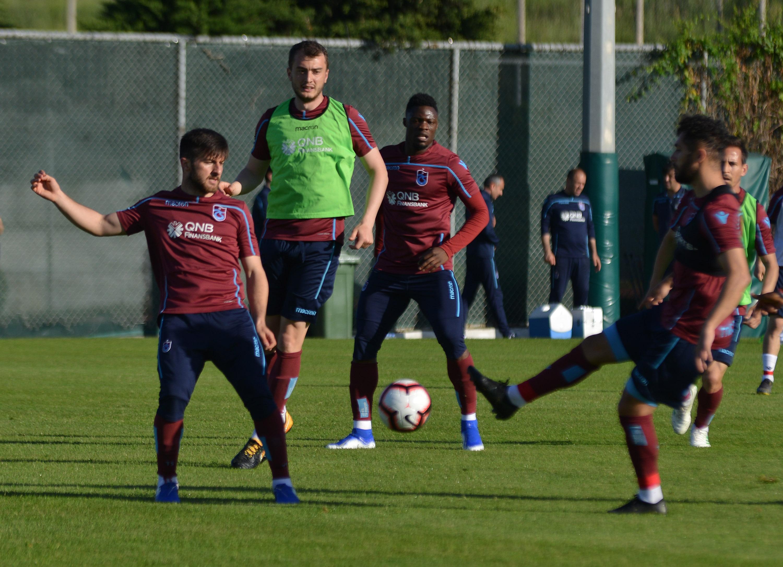Trabzonspor, Beşiktaş maçı hazırlıklarını sürdürdü 15 Mayıs 2019