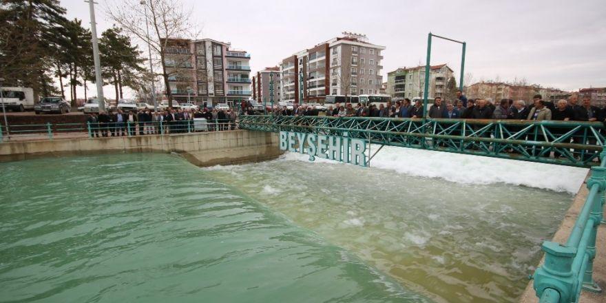 Beyşehir Göl'ü balıkları artık BSA kanalına akmayacak