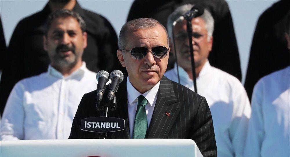 Erdoğan, Ziraat Türkiye kupasını kazanan Galatasaray'ı tebrik etti