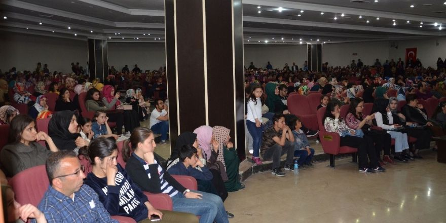 'Başarının sırrı' konferansına yoğun ilgi