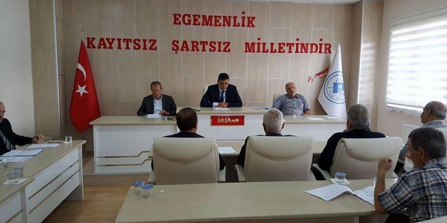 Pazaryeri Belediye Meclisi toplantısı