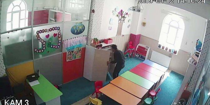 Caminin sosyal tesisini soyan kameradaki şüpheli yakalandı