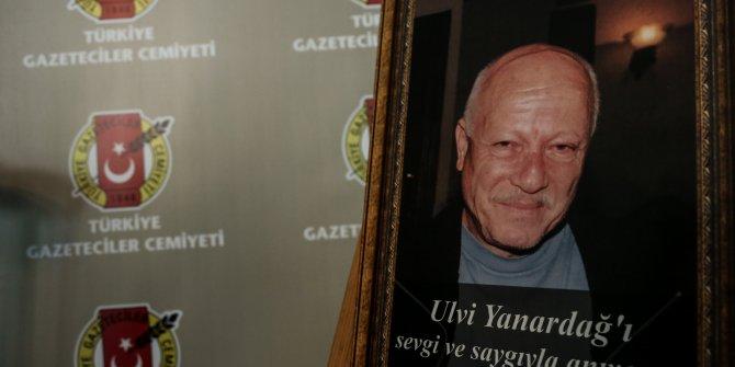 Duayen gazeteci Ulvi Yanardağ son yolculuğuna uğurlandı