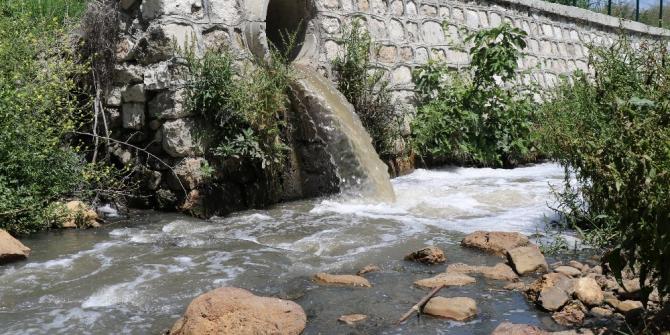 Dere suyunun kirli olduğu iddiası