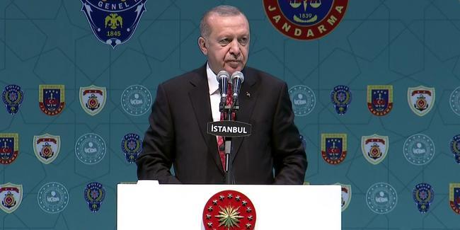 Cumhurbaşkanı Erdoğan iç güvenlik birimleri ile iftar programında konuştu