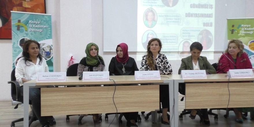Beyşehir'de kadın girişimciliğinin günümüz iş dünyasındaki rolü konuşuldu
