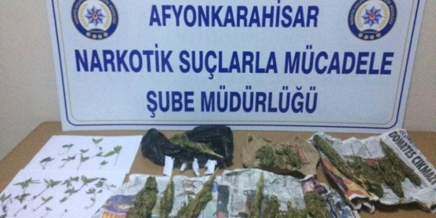 Evinde 343,9 gram esrar ile yakalanan şahıs tutuklandı