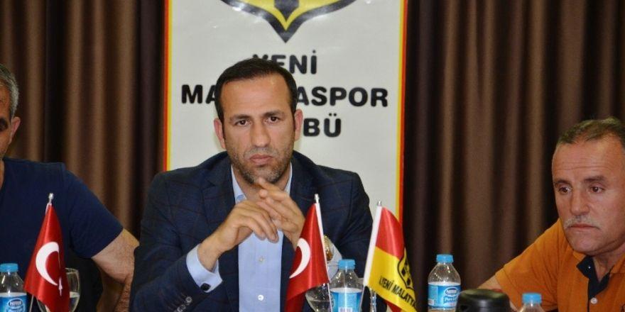 Evkur Yeni Malatyaspor'da hedef şampiyon olmak
