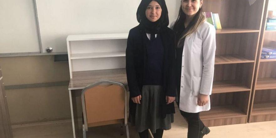Kaymakam Mağ'dan 200 öğrenciye çalışma masası