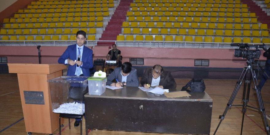 Siverek'te İş-Kur kurası noter huzurunda yapıldı