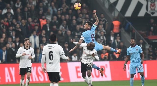 Goller peş peşe geldi! Trabzonspor 2 - Beşiktaş 1