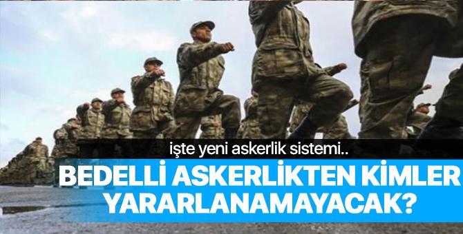Yeni askerlik sistemi meclise sunulacak