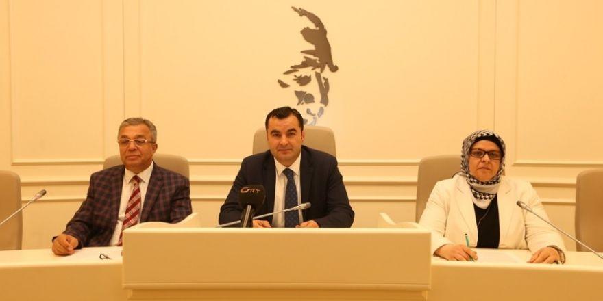Büyükşehir meclisi'nde 61 madde görüşüldü