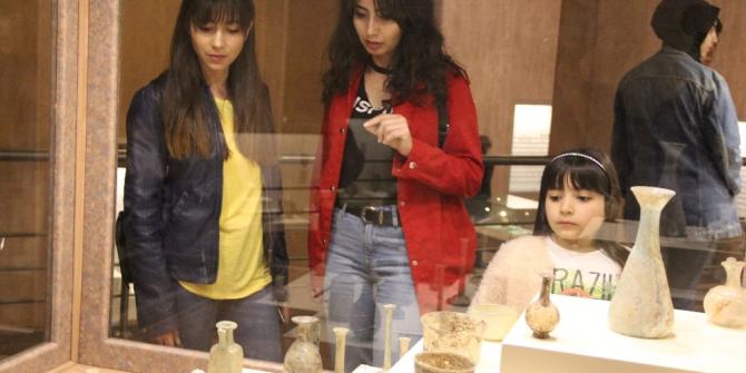 Çorum müzesine ziyaretçi akını