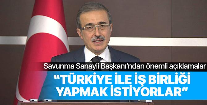 Savunma Sanayi Başkanı İsmail Demir'den önemli açıklamalar