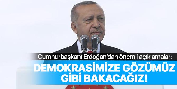 Cumhurbaşkanı Erdoğan 19 Mayıs'ın 100. yıldönümünde Samsun'da konuştu