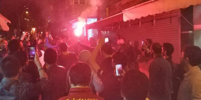 Galatasaray'ın şampiyonluğu Samsun'da coşkuyla kutlandı