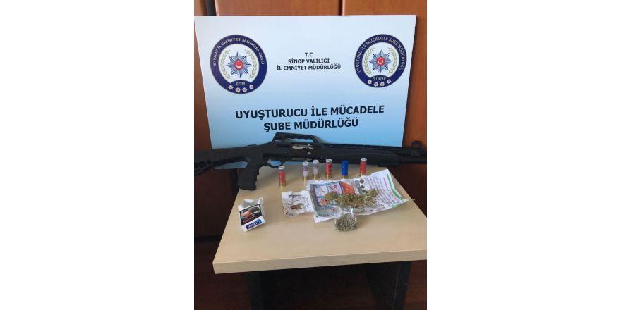 Sinop'ta uyuşturucu operasyonu: 6 gözaltı