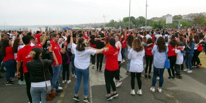 Tekirdağ'da 19 Mayıs'ın 100'üncü yılında atabarı oynadılar