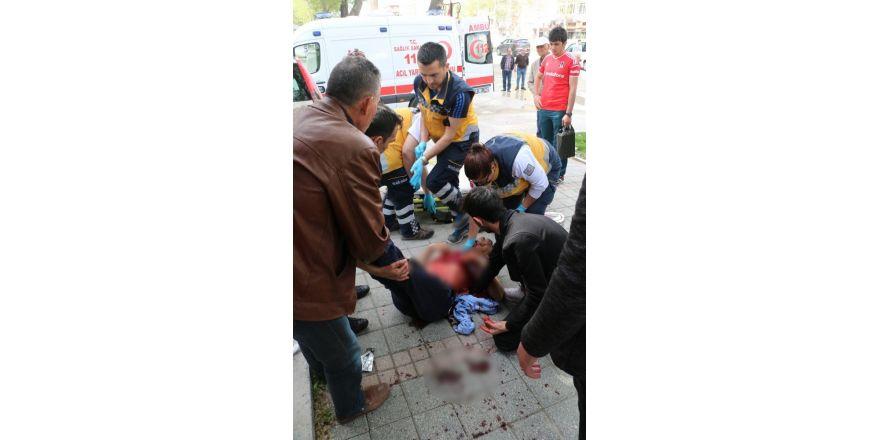 Kütahya'da bıçaklı kavga: 1 yaralı