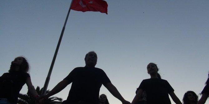 Hatay'da gençler, 19 Mayıs'ın 100'üncü yılında atabarı oynadı