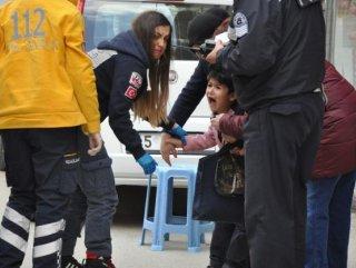 112 Sağlık Görevlisi Çocuklarla Birlikte Ağladı