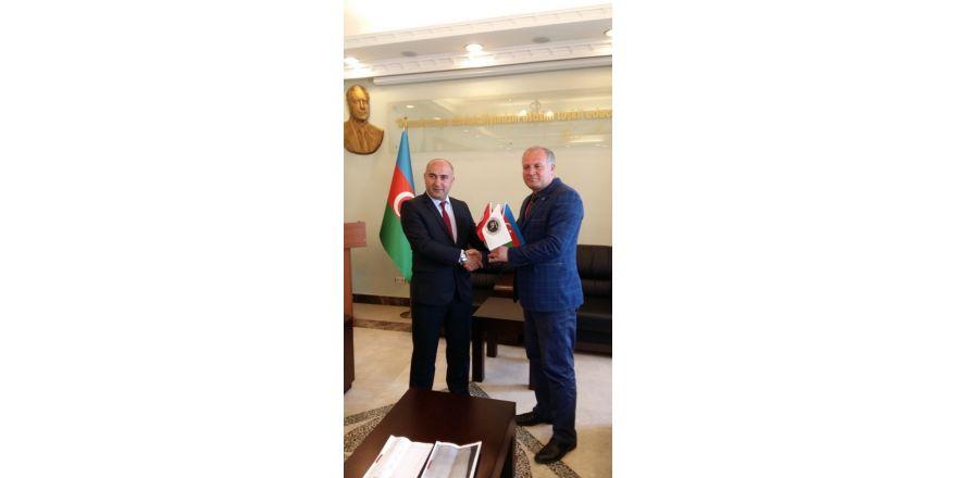 Asimder, Başkonsolos Guliyev'i ziyaret etti