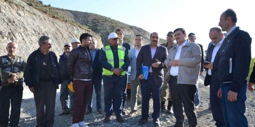 Erzincan'a tarımsal sulama amaçlı 6 proje yapılıyor