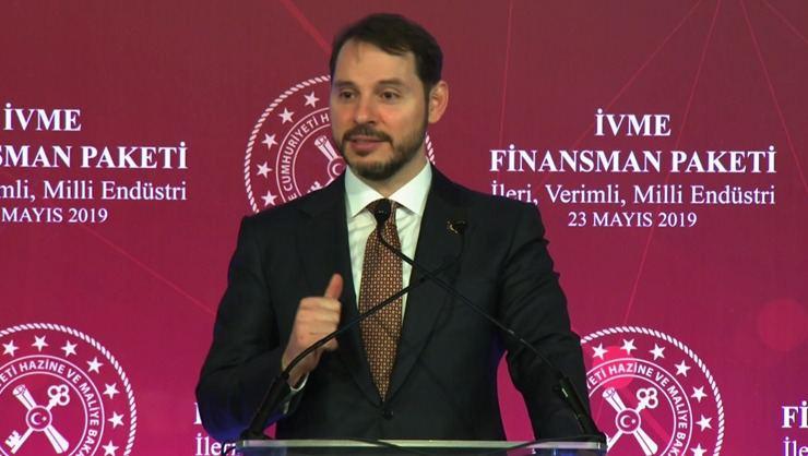 Berat Albayrak yeni finansman paketini açıkladı