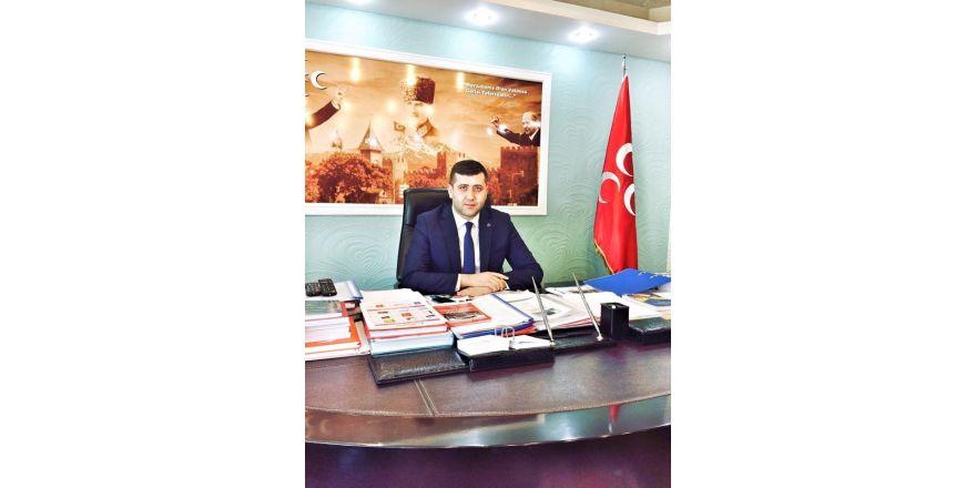 """MHP İl Başkanı Baki Ersoy, """"Berat Kandili, gönül dünyamızın temizliğine vesile olsun"""""""